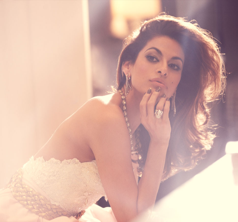 Eva Mendes for THE VIOLET FILES  |  #VioletGrey, The Industry's Beauty Edit