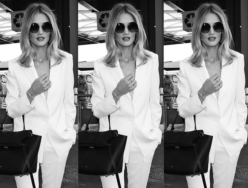 In Flight With Rosie Huntington-Whiteley | Heathrow to Nice | Cannes Film Festival | The Violet Files