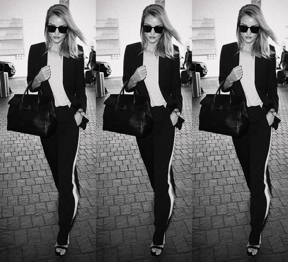 Rosie Huntington-Whitely | In Flight With Rosie | The Violet Files | @violetgrey