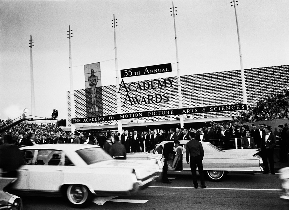 Oscars arrivals, 1963 | The Violet Files | @violetgrey