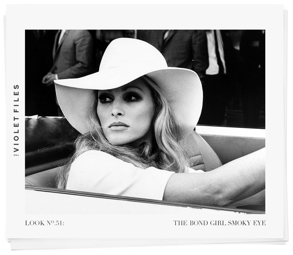 Ursula Andress | The Bond Girl Smoky Eye | The Violet Files | @violetgrey