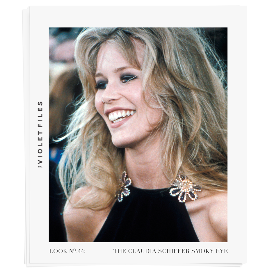The Claudia Schiffer Smoky Eye | The Violet Files | @violetgrey