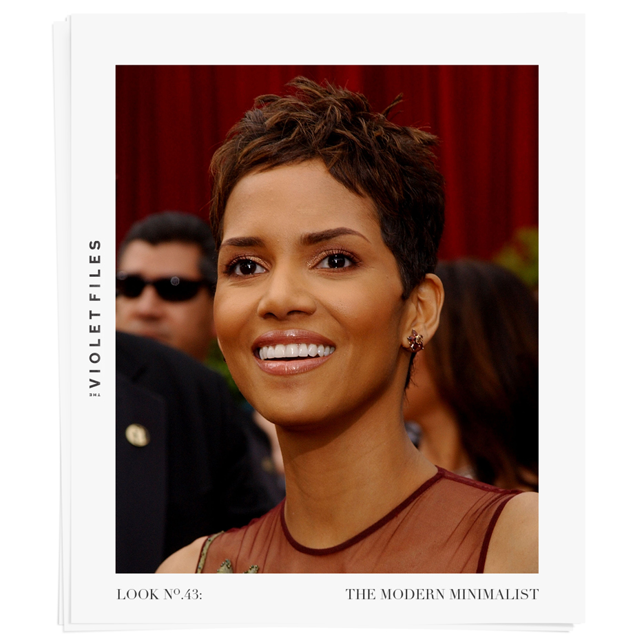 Halle Berry | The Modern Minimalist Tutorial | The Violet Files | @violetgrey