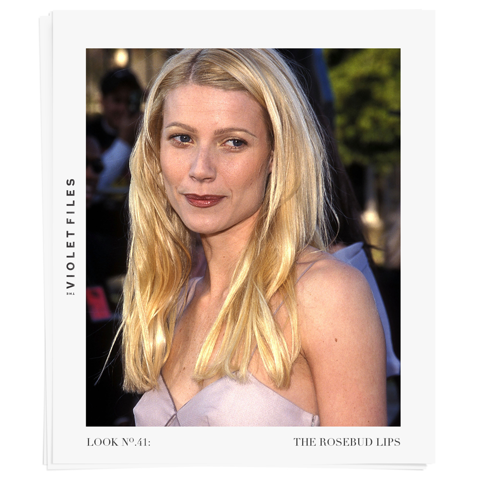 Gwyneth Paltrow at the 1999 SAG Awards | The Rosebud Lips Tutorial | The Violet Files | @violetgrey